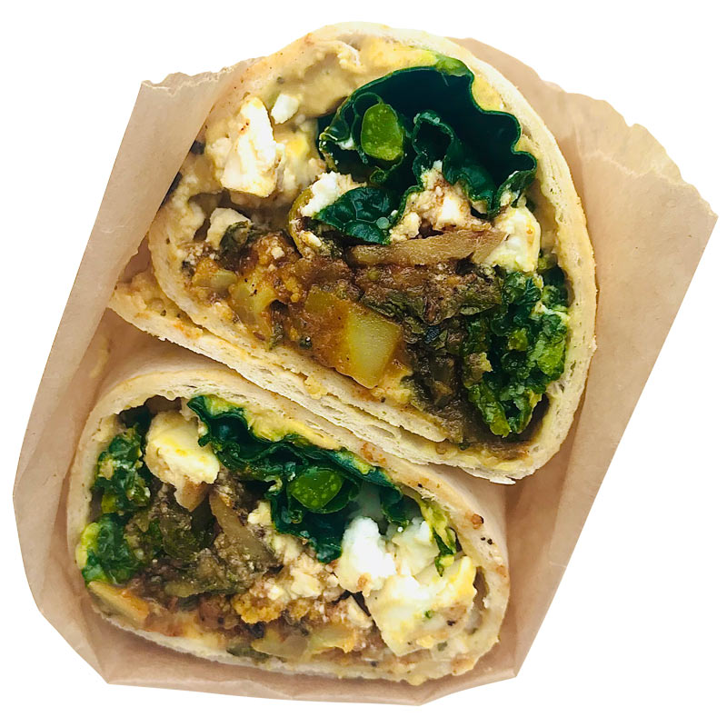 Wrap healthy food take away delivered Porthleven, Helston, Hayle and Long Rock Cornwalll
